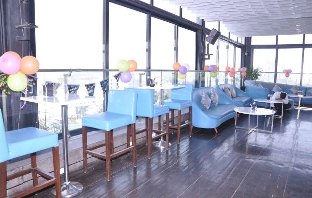Terrace Party at evviva sky lounge - crowne plaza pune city centre