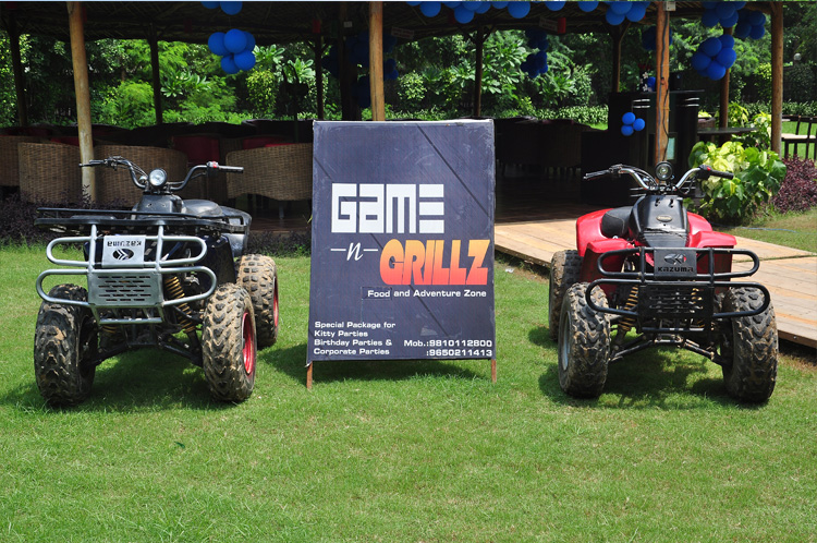 terrace party at game n grillz