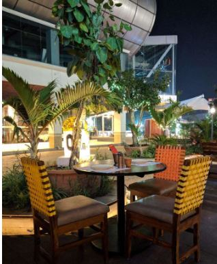 Terrace Party at good news dhaba