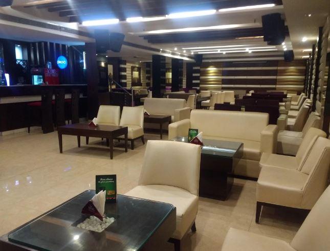 Terrace Party at hangout - lounge bar