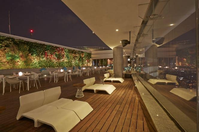 Terrace Party at high ultra lounge