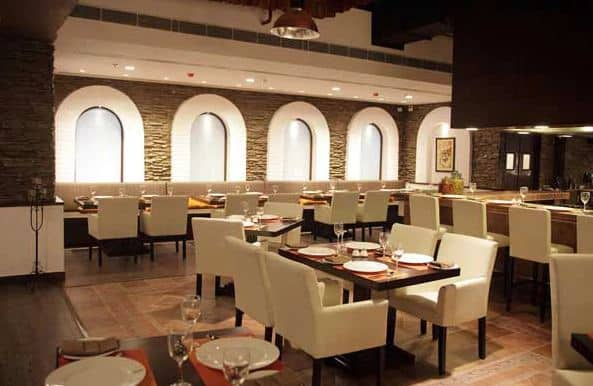 terrace party at indian grill room