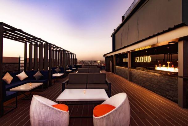Terrace Party at kloud - royal orchid central