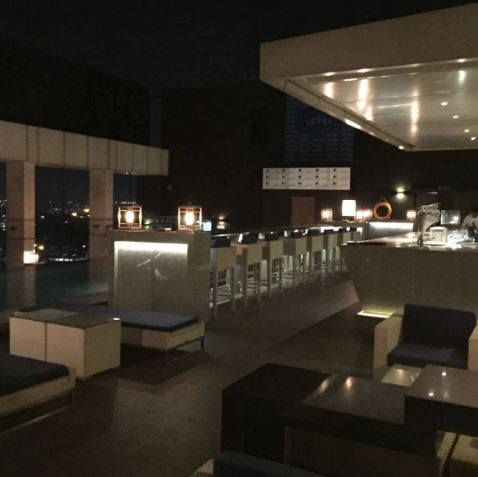 Terrace Party at level 12 - doubletree by hilton hotel
