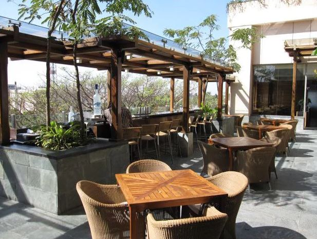 Terrace Party at liquid - hyatt bangalore mg road