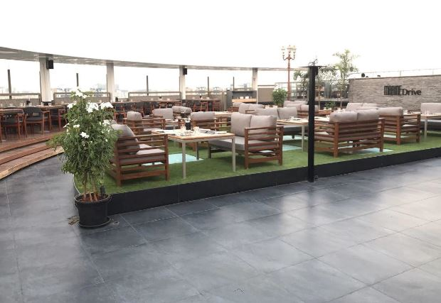 Terrace Party at marine drive