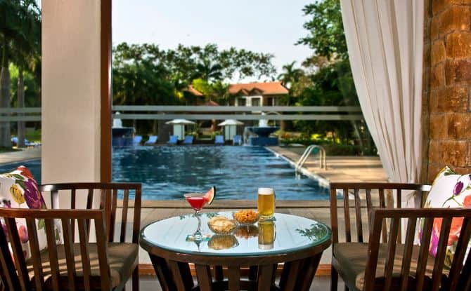 Terrace Party at mist - the poolside kitchen - the golkonda resort