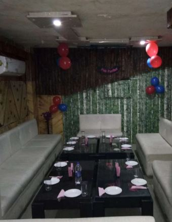 Terrace Party at p2 pink panther restaurant and bar
