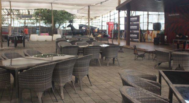 Terrace Party at sheetal da dhaba