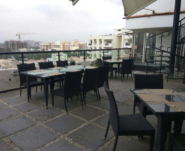 Terrace Party at skylit - citrus hotels