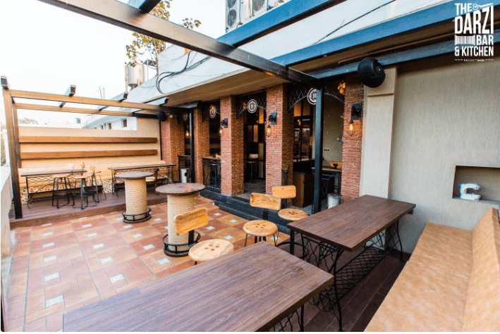 Terrace Party at the darzi bar and kitchen