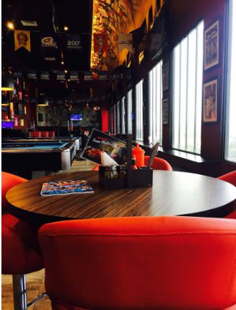 Terrace Party at underdoggs sports bar and grill