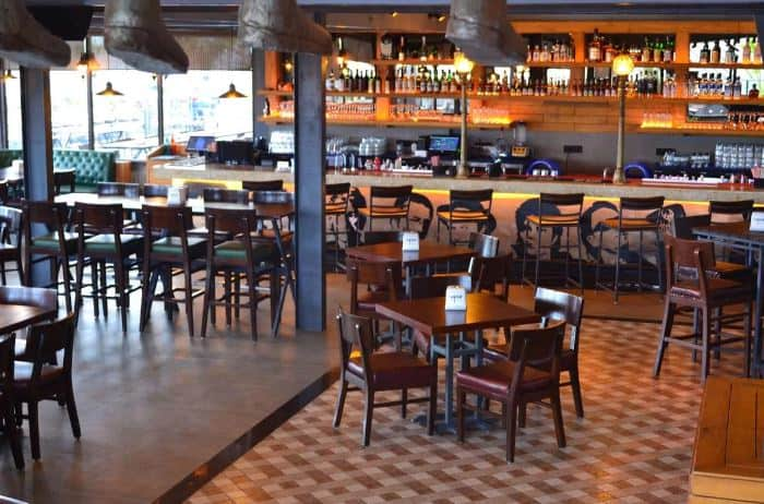 Terrace Party at vapour brewpub and diner