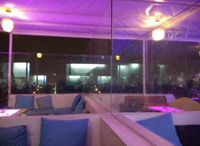 Terrace Party at vertigo - the high life