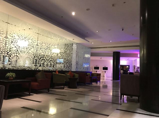 the bar - novotel hyderabad convention centre a perfect corporate party place
