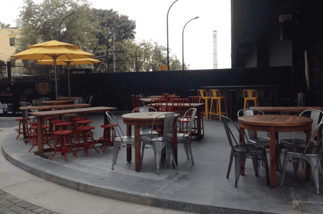the beer cafe a perfect corporate party place