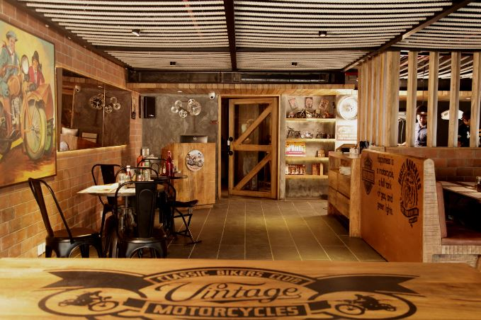 the bikers cafe a perfect corporate party place