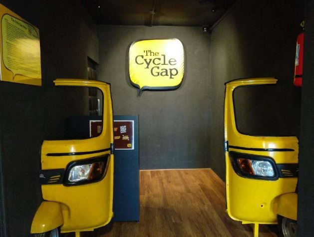 the cycle gap a perfect corporate party place