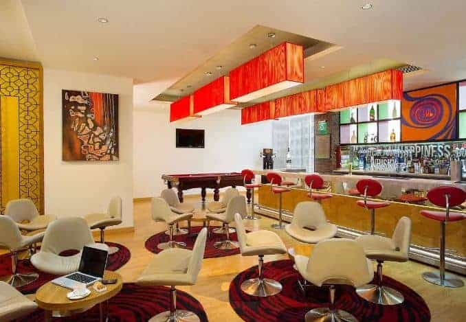 the hub - ibis hotel a perfect corporate party place