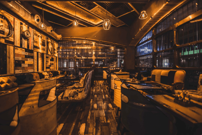 the junkyard cafe a perfect corporate party place