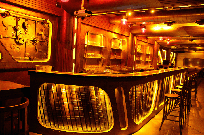 the submarine lounge a perfect corporate party place