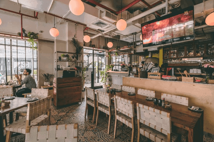 OLLY - Olive's All Day Cafe & Bar DLF Cyber City