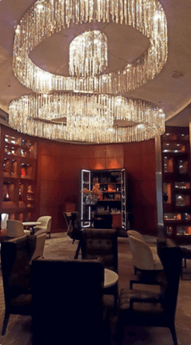 Oval Bar - JW Marriott New Delhi