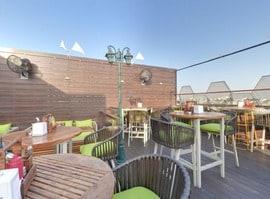 Qubitos - The Terrace Cafe Rajouri Garden