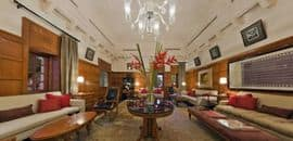 The Rajwada Library Bar - The Oberoi Rajvilas Agra Road