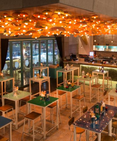 tiki shack - rooftop bar a perfect corporate party place